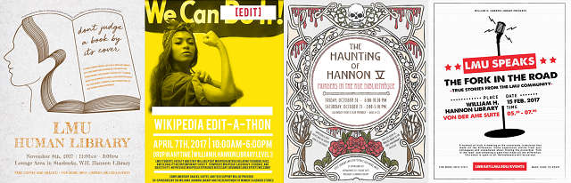 2017 Hannon Library Events & Exhibits