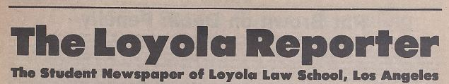The Loyola Reporter