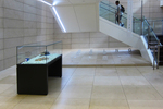 First Floor Vitrine and Title