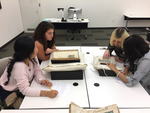 Visualizing Literature Students in Archives Classroom