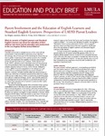 No.1, December 2007: Parent Involvement and the Education of English Learners and Standard English Learners: Perspectives of LAUSD Parent Leader