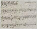 "Letter from Lieutenant H.D. McLellan to ""Binnie"" McLellan, Side 1"