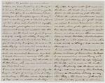 "Letter from Lieutenant H.D. McLellan to ""Binnie"" McLellan, Side 2"