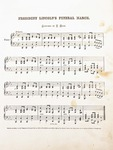 President Lincoln's Funeral March Sheet Music