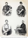 Four Amputee Civil War Soldiers