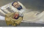 Injured Civil War Soldier