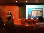 Eric Pittaluga speaks at Undergraduate Research Symposium image 1