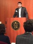 Eric Pittaluga speaks at Undergraduate Research Symposium image 3