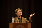 2015 Common Book author Dave Eggers speaks to LMU students, staff, and faculty