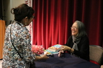 Ruth Ozeki signs copies of 2016 LMU Common Book