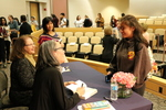 Ruth Ozeki signs copies of 2016 LMU Common Book for students