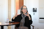 Ruth Ozeki meets with students in the 2016 Bellarmine Forum seminar courses