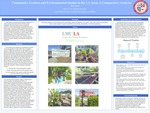 Community Gardens and Environmental Justice in the LA Area: A Comparative Analysis