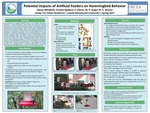 Potential Impacts of Artificial Feeders on Hummingbird Behavior by Alyssa Weisblatt and Carolyn Egekeze