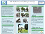 City of Colton Urban Forest Management Project by Nelson Hunter-Valls, Giovanni Di Franco, and Maria Curley