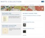 Watts Collection by Melanie Hubbard and Dermot Ryan