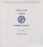 67th Annual Commencement by Loyola Law School Los Angeles