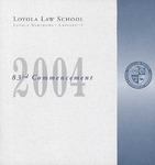 83rd Annual Commencement by Loyola Law School Los Angeles