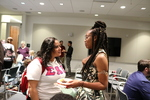 Kaelyn Sabal-Wilson Speaks with an Audience Member by John M. Jackson