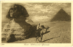 Early 20th Century Egypt Postcard