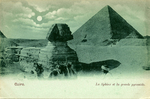 Early 20th Century Postcard of The Sphinx