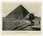 Sphinx of Giza Archaeological Excavation, 1911
