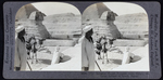 Stereographic Image of the Great Sphinx of Giza, ca. 1925