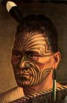 Image of Tattooed Māori Man