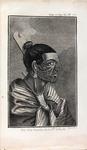 Illustration of a Māori Man from <em>Abrégé de l'Histoire Générale Des Voyages</em>, 1780-1801