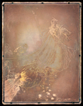 Copper Plate Intaglio Engraving from <em>A Midsummer-Night's Dream</em>