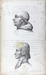 Illustration from <em>Phrenology, in Connexion with the Study of Physiognomy</em>, 1836, c1833