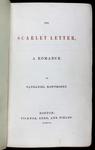 <em>The Scarlet Letter</em>, 1850