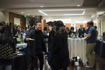 Attendees at the Spring 2017 Exhibition Opening Event by Alex Lior