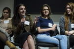 Alexandra Rosas-Maxemin, Elizabeth Burton, Julia McArthur, and Kaitlyn Morrissey-Braden by Alex Lior