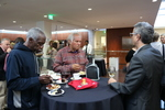 Attendees at the Fall 2017 Exhibition Opening Event by John M. Jackson