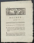 Decree of the Convention Nationale (1792) 1