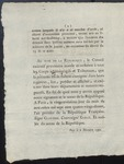 Decree of the Convention Nationale (1792) 2