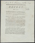 Decree of the Convention Nationale (1793) 1