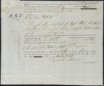 Bill of Lading (1807) 1