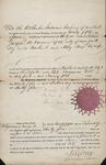 Certificate that Mortgage was paid  (NY) 1832 1