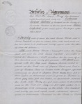 Agreement to buy land with a shop (Liverpool) 1866 1