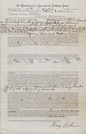 Logging Contract (Maine) 1877 1