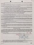 William Morris Agency Contract (New York) 1960 5