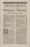 Supplement to Gentleman's Magazine 1754 1