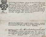 Bill of Lading (Portugal) 1796