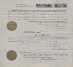 Marriage License 1925 1