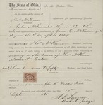 Application for Appointment of Guardian 1865 1