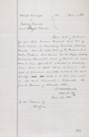 Request for Writ of Ejectment Against Fulmer (1878) 1