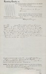 Writ of Ejectment in Case Against Fulmer (1878) 1