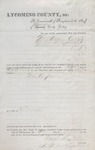 Summons to Mutual Livestock Insurance PA (1886) 1